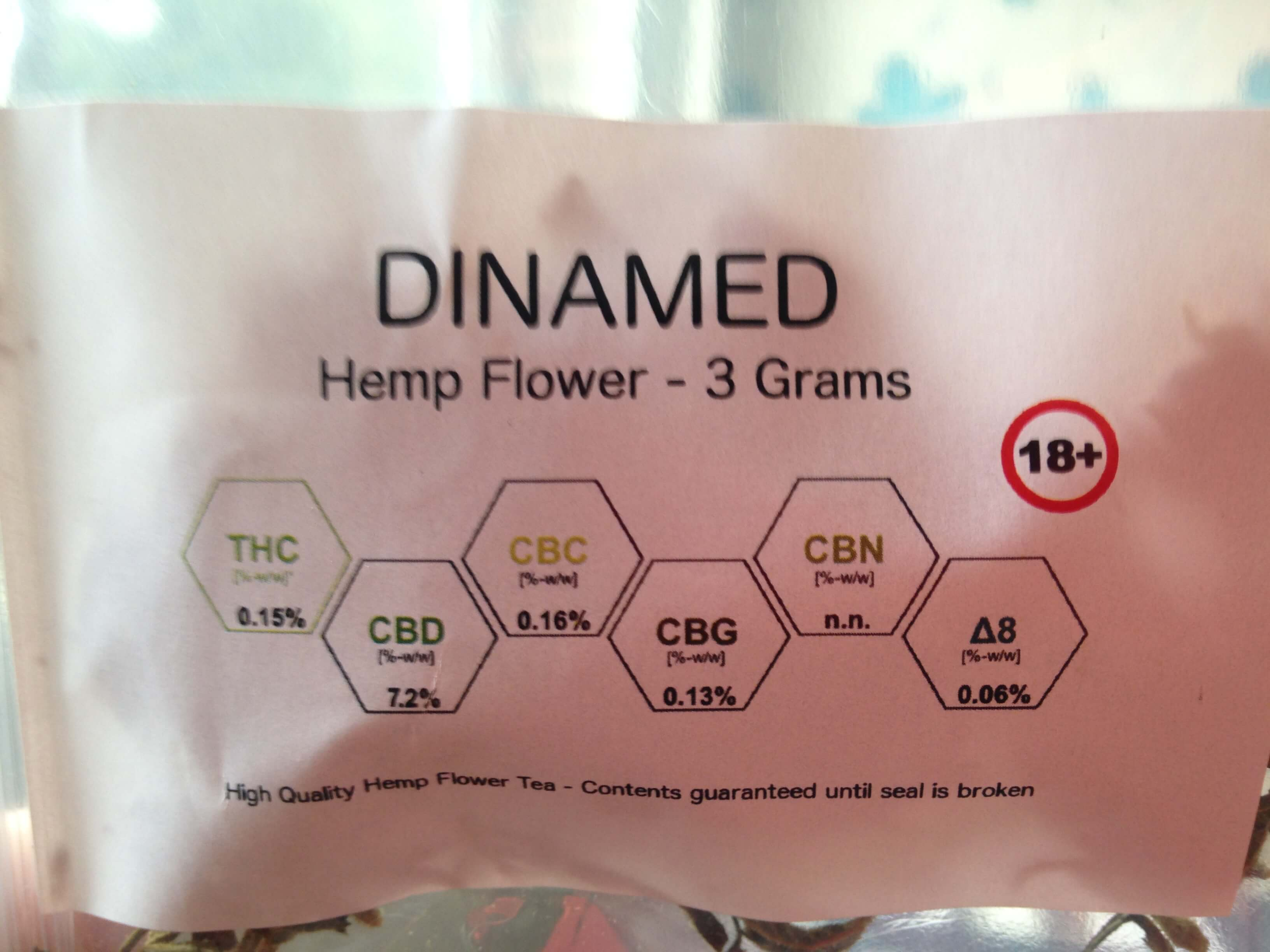 CBD Flower Strain Review: Dinamed From IceHeadShop.com