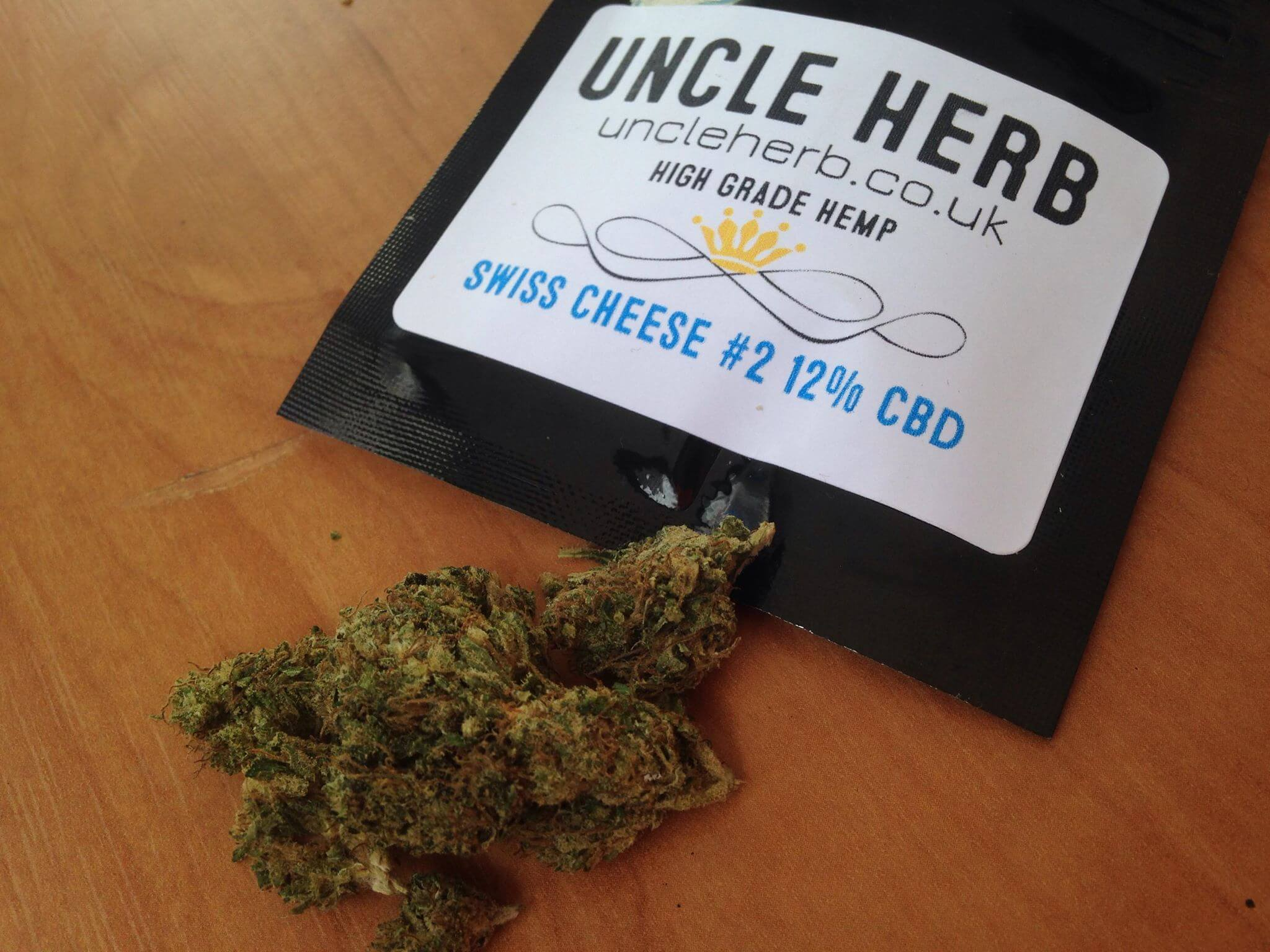 CBD Flower Strain Review: Swiss Cheese (12% CBD) #2 From Uncle Herb